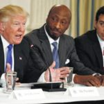 Business leaders quit Trump panel; he hits back hard