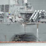 On ships far from the McCain crash, a renewed safety focus