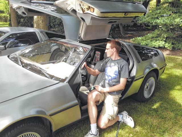 "Marty Lick said growing up in the 1980s with the name Marty, like the Michael J. Fox character in the ""Back to the Future"" movies, it seems meant to be that he would own his own DeLorean one day."
