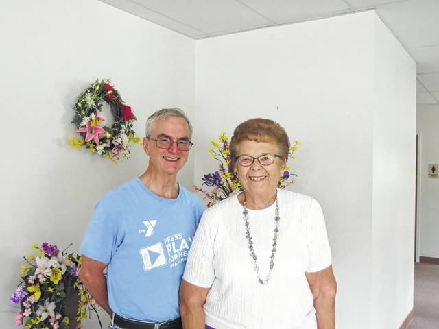 The Rev. Bill Cronk and Blass have worked together over the years on helping the church reach its community.