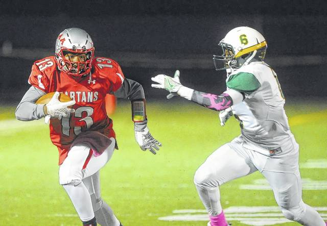 Lima Senior's Boppi White will be one of several Spartans looking to fill the void left by All-State leading rusher Jaden Walker who graduated.