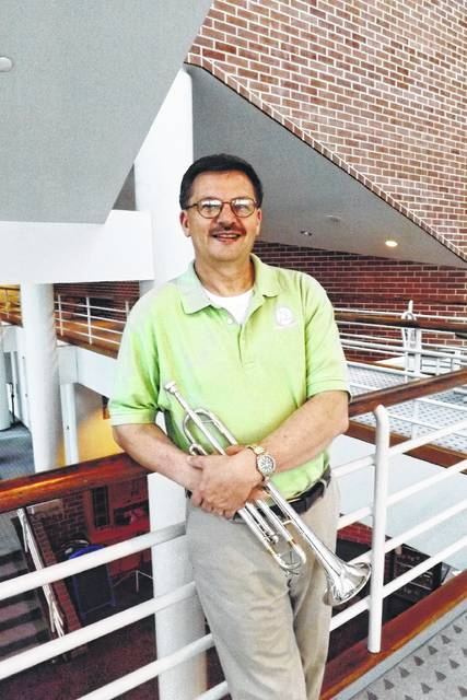 Van Wert native Paul Hoverman has spent his life sharing his love of music through bringing concerts to his community at Fountain Park or Niswonger Performing Arts Center, playing trumpet with the LSO, and by leading the chancel choir at First United Methodist Church of Van Wert.