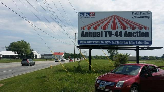 Television Station Seeks Items For Fundraising Auction