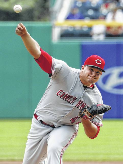 Cincinnati starting pitcher Sal Romano allowed two runs, one earned, and four hits in 5 2/3 innings Sunday at Pittsburgh.