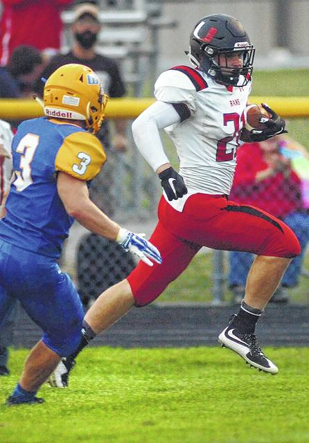 Lima area football roundup: Ada hangs on to defeat Delphos Jefferson