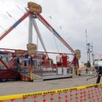 Crews dismantling thrill ride after deadly fair accident