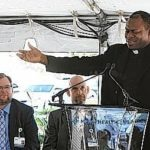 Stepping back to its roots: Mercy Health sign unveiled at St. Rita's