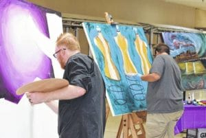 Canvas Project brings art to Lima Mall