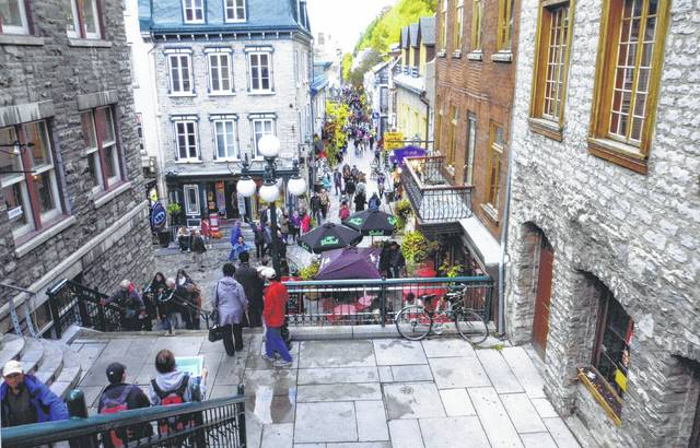 Lower Town in Old Quebec City.