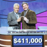 Standout 'Jeopardy!' player's streak ends with narrow loss