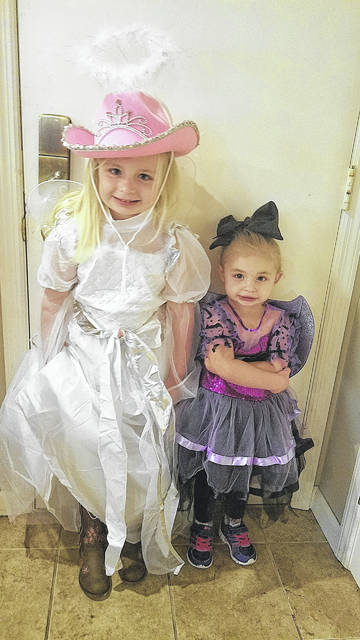 Angel cowgirls and other mixed-up compromise ideas are what Halloween is made of.