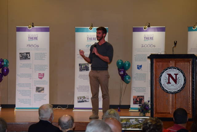 Chris Ulmer, founder of Special Books by Special Kids, was the keynote speaker at the Allen County Board of Developmental Disabilities' 50th anniversary gala.