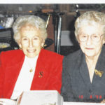 98th birthday: Evelyn Sarber and Hazel Dunn