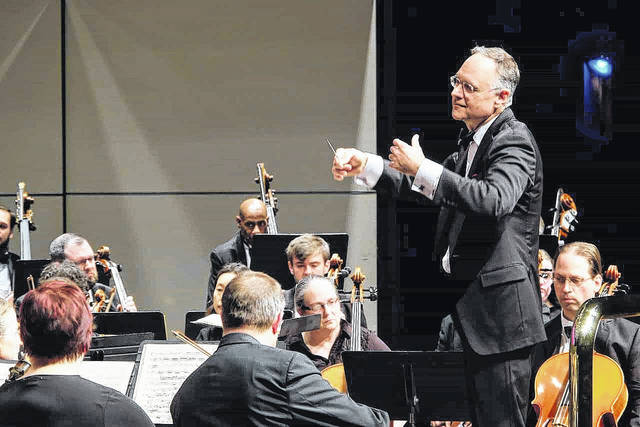 Conductor Crafton Beck has composed a piece that will be performed by the Lima Symphony Orchestra at its season-opening concert Saturday at Veterans Memorial Civic Center, Lima.