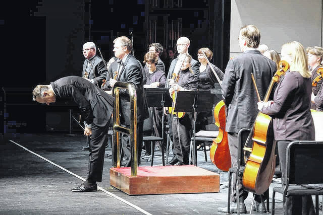 The Lima Symphony Orchestra will be in concert Saturday night at Veterans Memorial Civic Center.
