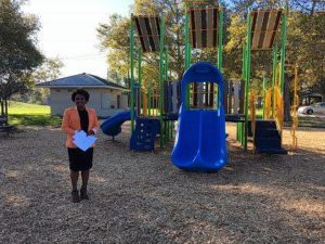 City shows off park improvements