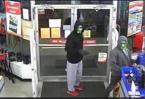 Three armed robberies Sunday night in Lima may be connected