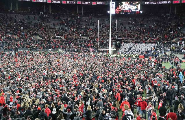 ohio state rallies to beat penn state the lima news