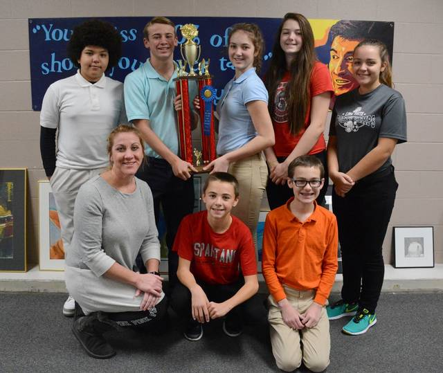 South quiz bowl team takes home county title the lima news for Markley motors service coupons