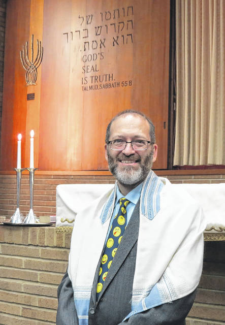 Rabbi Howard Stein brings his eight years of experience as a rabbi and educator to Lima, where he will serve as spiritual leader at Temple Beth Israel-Shaare Zedek.