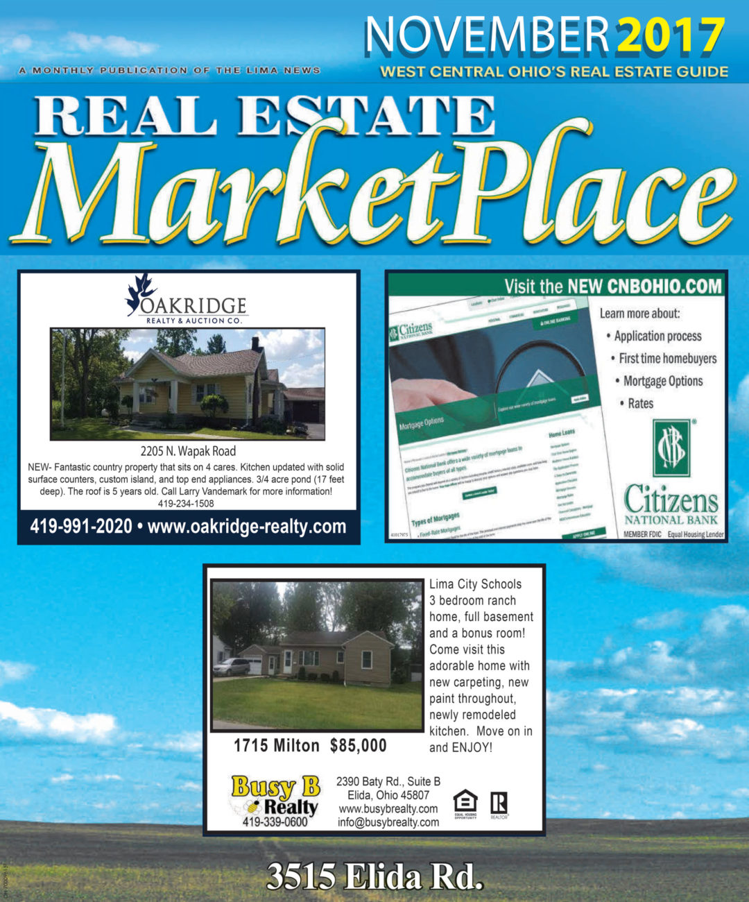Real Estate Marketplace November 2017