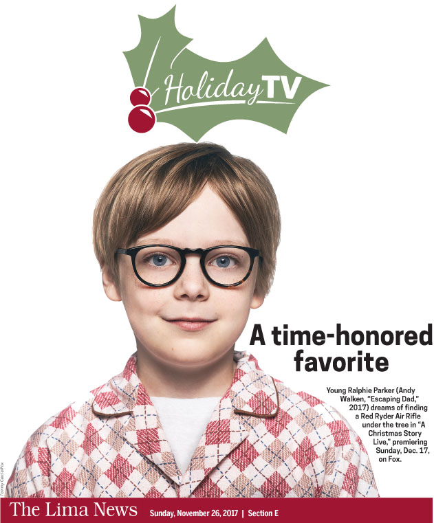 Holiday TV Listings 2017
