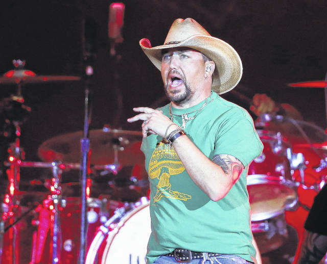 Country star Jason Aldean makes a return to the stage in Tulsa, Okla., on Oct. 12. Aldean said he hopes that healing can start for those affected by a mass shooting at a Las Vegas music festival in his first interview since the October shooting.