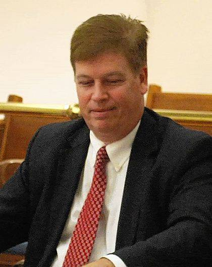 Ken Egbert, assistant prosecutor with the Environmental Enforcement section of the Ohio Attorney General's office, was in court in Lima Tuesday for hearings associated with the illegal transport and dumping of scrap tires within the city of Lima.