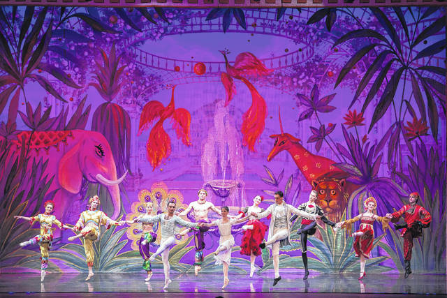"Moscow Ballet's ""Great Russian Nutcracker,"" Variations in Act II."