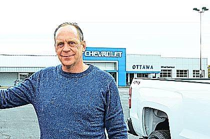 Daniel Jacobs, Chevrolet of Ottawa's new owner, is looking to bring a more personal approach to vehilce dealership in the area. He wants local customers to have a better experience while making the decission to purchase a new vehicle.
