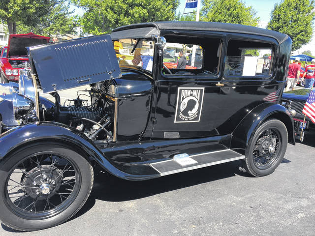 Vietnam veteran Tom Reese, of Waynesfield, purchased this 1929 Ford Model A on a whim.