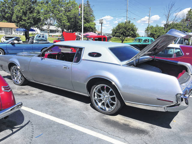 """The 1973 Lincoln Continental Mark IV was a """"must have"""" purchase for Ronald Ellis."""