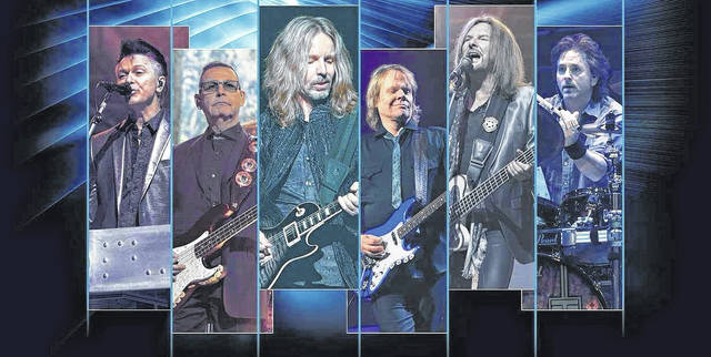 Styx will be performing at 8 p.m. Tuesday at Veterans Memorial Civic Center, Lima.