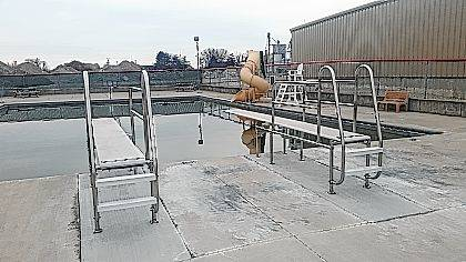 A Shop and Play was held Sunday at Spencerville High School to help fund the Spencerville Swimming Pool.