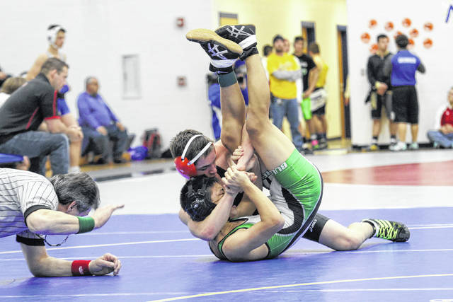 Adas Sumner Parkway Rise To Top At Lincolnview Wrestling