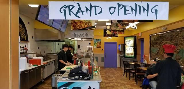 The Burrito Oki Bento Box is the newest hibachi and bento restaurant in the Lima Mall.