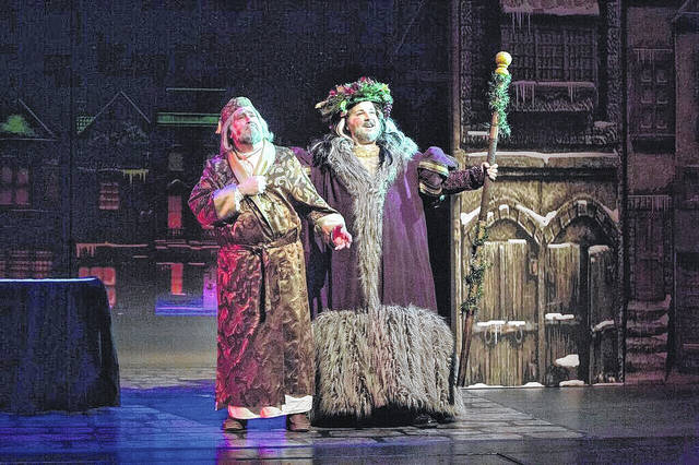 """""""A Christmas Carol"""" will be presented Sunday afternoon at Niswonger Performing Arts Center."""