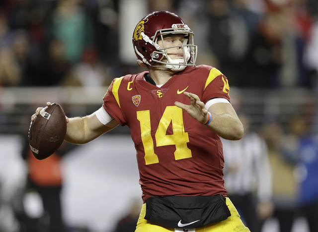 USC QB Darnold has no qualm playing for Browns