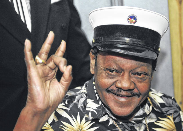 Fats Domino, shown in this 2008 file photo, was an amiable rock 'n' roll pioneer whose steady, pounding piano and easy baritone helped change popular music even as it honored the grand, good-humored tradition of New Orleans. He died Oct. 24.