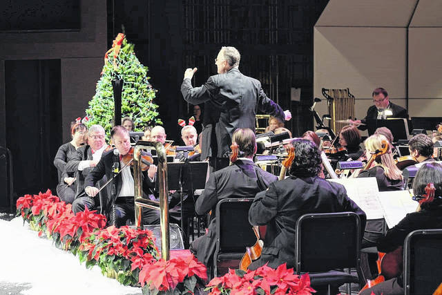 The Lima Symphony Orchestra is joined by the Lima Symphony Chorus for the annual holiday concert this weekend.
