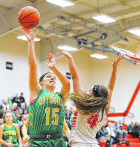 Ottoville puts pinch on Bluffton in girls basketball