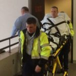 Catlett wheeled from courtroom after becoming ill during sentencing