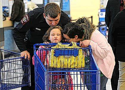 On Saturday, 85 children each received $200 in Meijer gift cards and were paired with law enforcement for their holiday shopping.