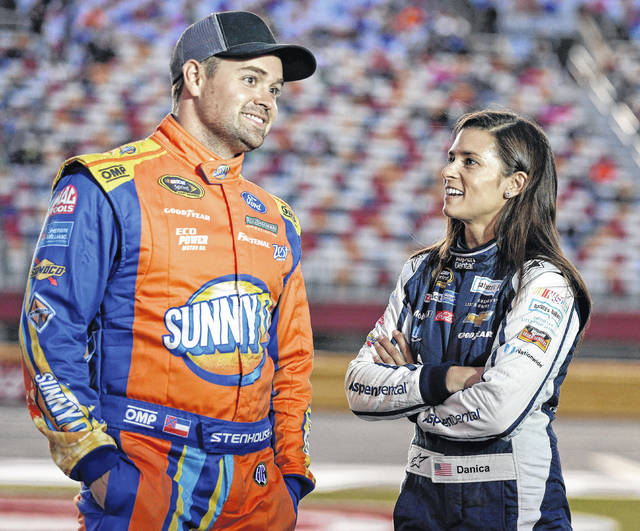 Danica Patrick's relationship with NASCAR driver Ricky Stenhouse Jr. is over