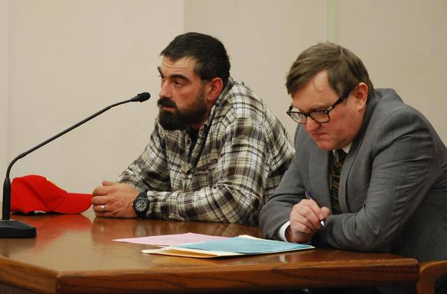 J Swygart   The Lima News Charles Farsht, 35, of Defiance, will be sentenced Feb. 5 for his role in the illegal transportation and dumping of scrap automobile tires inside the city of Lima. He appeared in court Monday with attorney Michael Short.