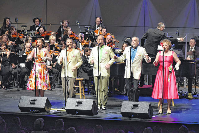 The Lima Symphony Orchestra is joined by Five By Design for the annual New Year's Eve Concert at the Veterans Memorial Civic Center.
