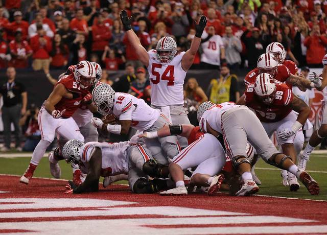 Ohio State tops Wisconsin to win Big Ten