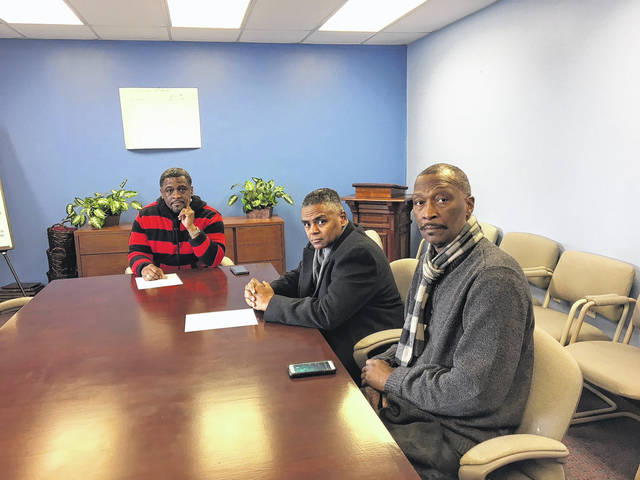 Members of the Lima Area Black Ministerial Alliance, including Pastor Dennis Ward, Pastor Cleven Jones and Pastor Arthur Butler, met with the media Thursday to discuss the violence that occurred at the Waffle House on Tuesday.
