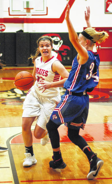 Bluffton's Avery Rumer is one of four juniors helping the Pirates produce wins.