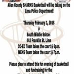 Allen County Special Olympics basketball team holding fundraising basketball game